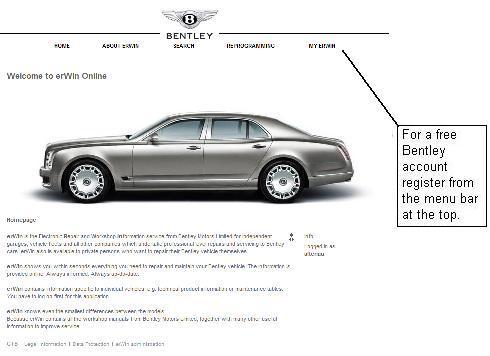 Bentley Motors Online